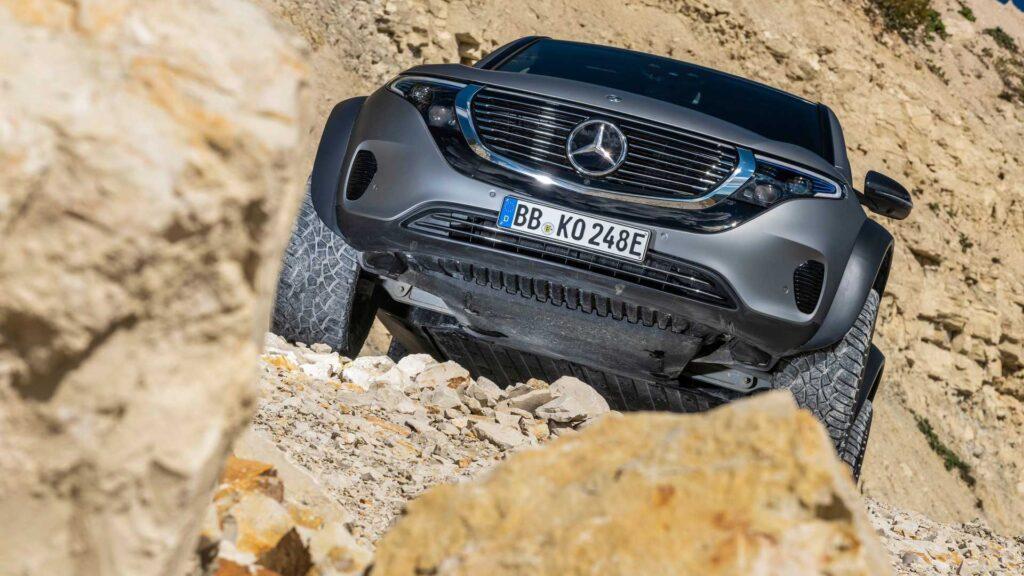 Mercedes Benz EQC 4X4 Güncellemesi Aldı